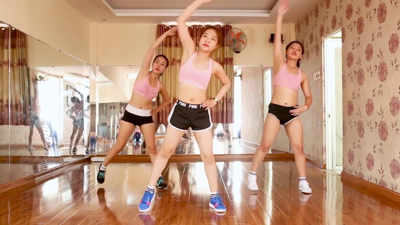 Luyện tập với aerobic giúp sở hữu thân hình chuẩn
