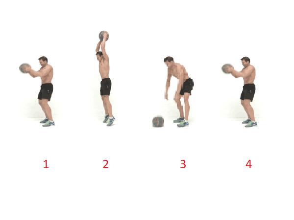 Bài tập giảm mỡ bụng cho nam kết hợp với một quả bóng