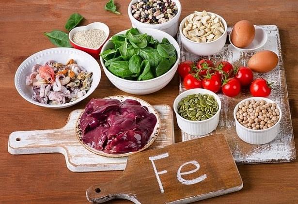 Tổng hợp các thực phẩm giàu sắt nhất tốt cho sức khỏe