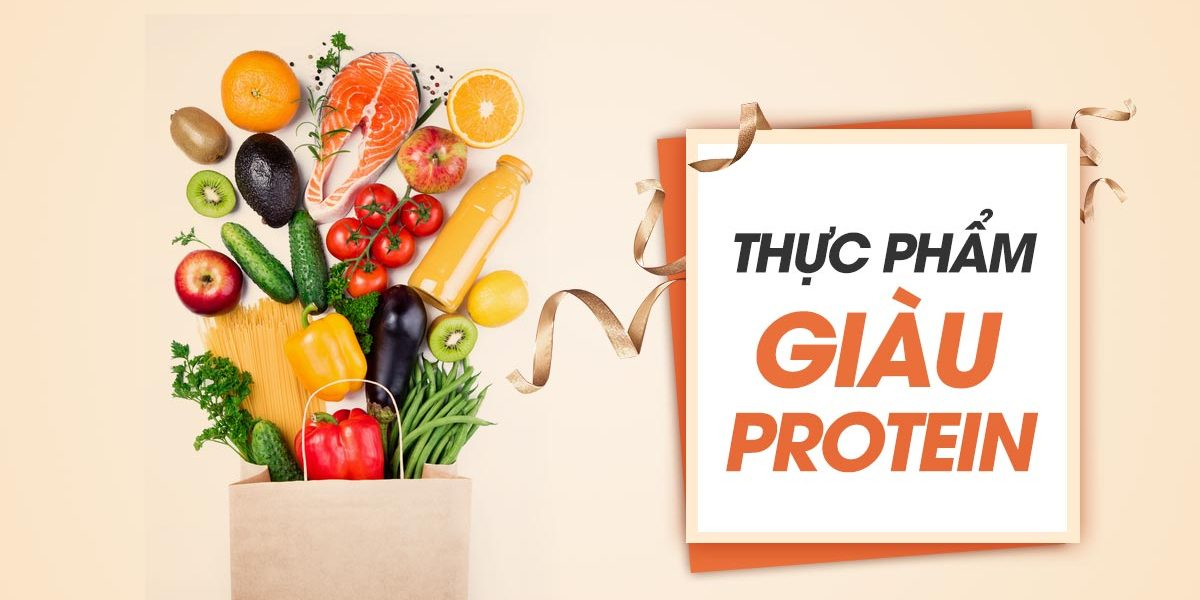 Các loại thực phẩm chứa nhiều Protein tốt cho sức khỏe?