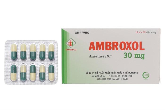 Thuốc ho Ambroxol uống như thế nào?