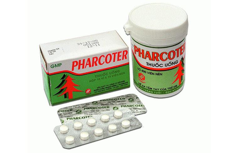 Thuốc Pharcoter có tác dụng gì, uống như thế nào?