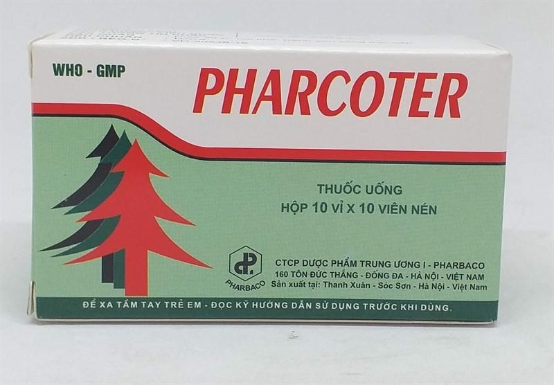 Thuốc Pharcoter uống như thế nào