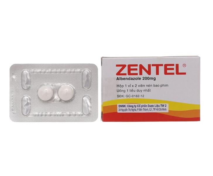 Những điều cần lưu ý khi sử dụng thuốc Zentel