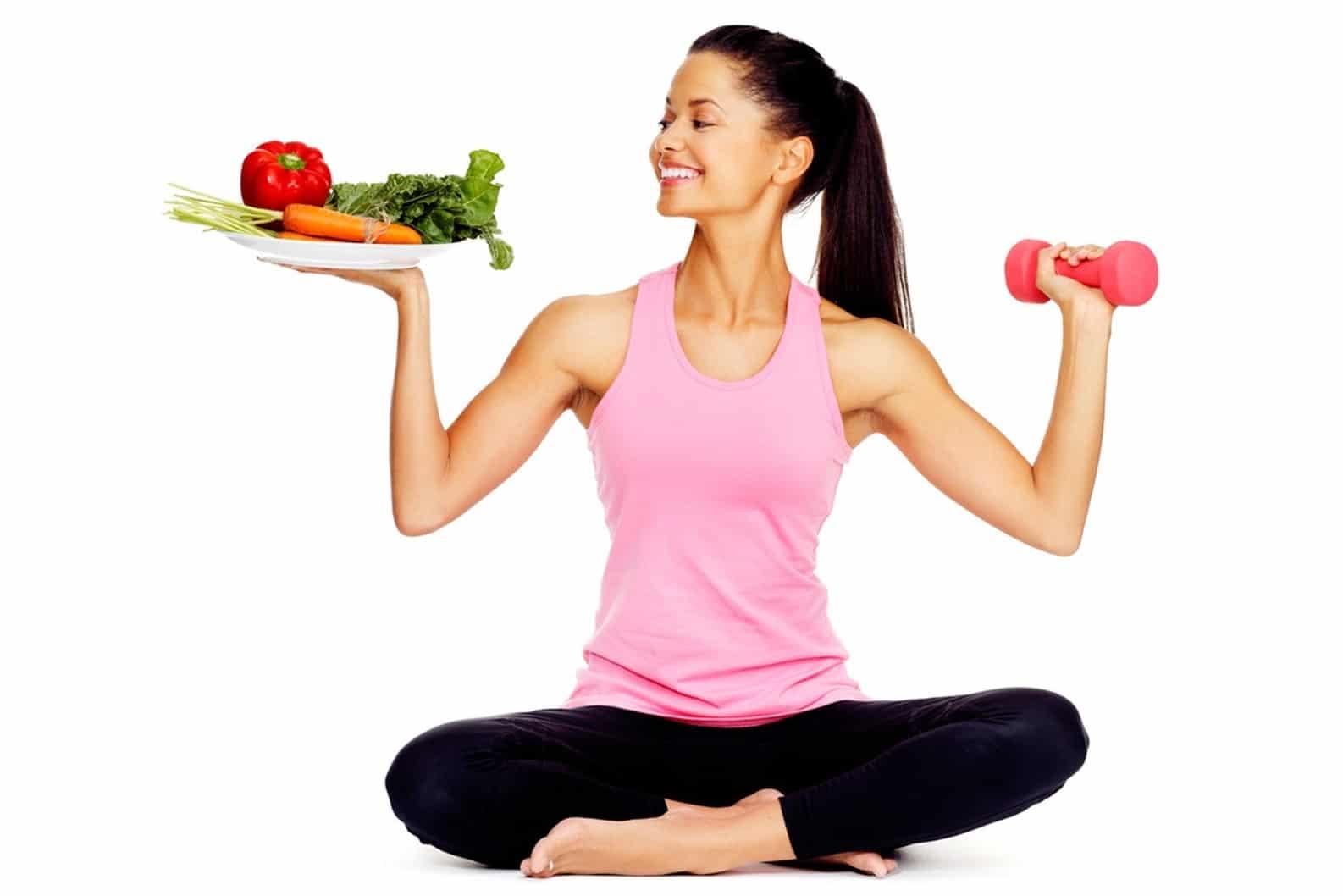 Kết hợp chế độ ăn hợp lý