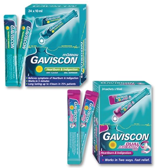 thuốc gaviscon có tác dụng gì