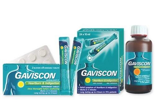 thuốc gaviscon chữa bệnh gì