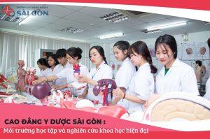 mức học phí Cao đẳng Y Dược Sài Gòn năm 2021 có cao hay không?