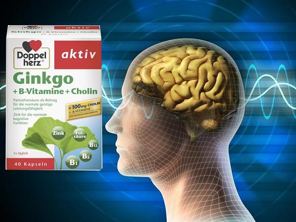 cách sử dụng thuốc bổ não ginkgo