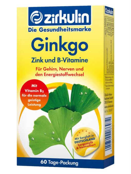 Thuốc bổ não Binkgo Đức